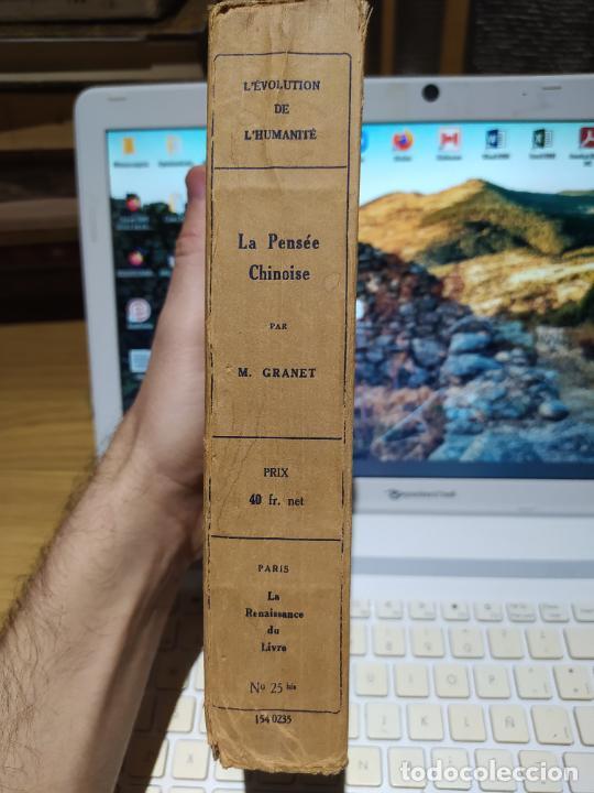 Libros antiguos: La Pensee chinoise, Macel Granet, ed. Albin, Paris. 1934 - Foto 4 - 232085485