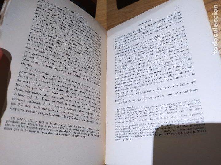 Libros antiguos: La Pensee chinoise, Macel Granet, ed. Albin, Paris. 1934 - Foto 5 - 232085485