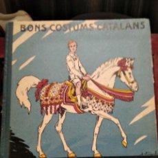 Libri antichi: ELS TRES TOMBS-BONS COSTUMS CATALANS-M.B.-Y J.VINYALS-FOMENT DE PIETAT-1934-MUY BUEN ESTADO. Lote 232118235