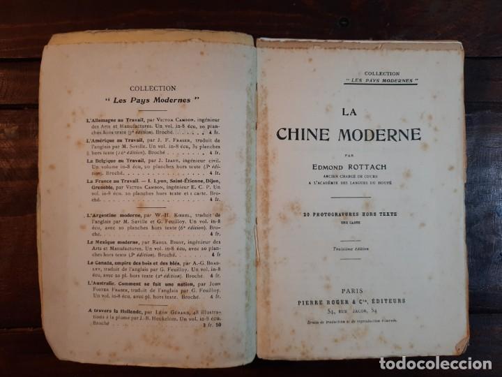 Libros antiguos: LA CHINE MODERNE - EDMOND ROTTACH - PIERRE ROGER EDITEURS, NO CONSTA AÑO, 3ª EDICION, PARIS - Foto 5 - 232236190