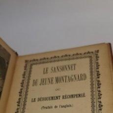 Libros antiguos: RARISIMO LIBRO LA SANSONNET DU JEUNE MONTAGNARD IMP. VERBEKE-LOYS.GRAMMONT. BRUGES. 191?. Lote 232247720