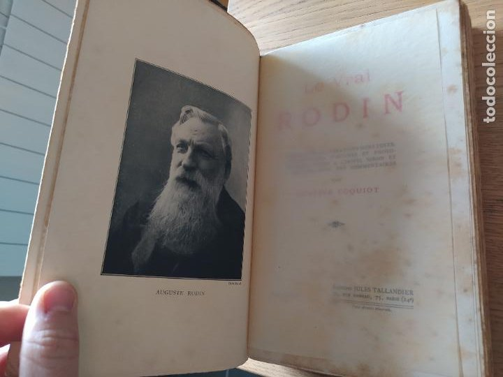 LE VRAI RODIN GUSTAVE COQUIOT, PUBLICADO POR TALLANDIER, PARIS (1913) (Libros Antiguos, Raros y Curiosos - Bellas artes, ocio y coleccionismo - Otros)