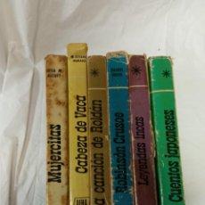 Libros antiguos: LOTE COLECCION AURIGA SERIE ESMERALDA. Lote 232265520
