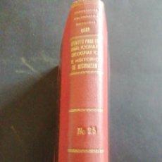 Libros antiguos: APUNTES PARA UNA BIBLIOGRAFÍA GEOGRÁFICA E HISTÓRICA DE MICHOACAN. J. ROMERO FLORES. 1932. Lote 232272630
