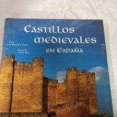 Libros antiguos: CASTILLOS MEDIEVALES EN ESPAÑA. Lote 232322560
