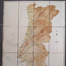 Libros antiguos: DESCRICAO DO ESBOCO DUMA CARTA TECTONICA DE PORTUGAL. CARLOS FREIRE DE ANDRADE, CASA PORTUGUESA,1956. Lote 232422985