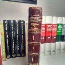 Libros antiguos: TESORO DEL CAMPO - NOVÍSIMA GUÍA ... CORTÉS Y MORALES - TOMO I - 1889 - MEDIA PIEL + REGALO VER. Lote 232517470