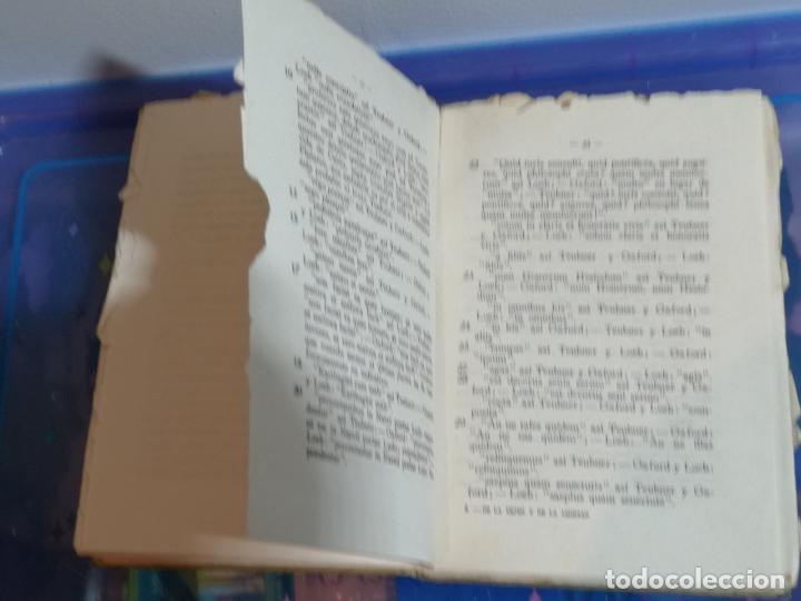 Libros antiguos: LIBRO DE LA VEJEZ Y DE LA AMISTAD. CICERÓN.PEDRO FONT PUIG.FALTAN PÁGINAS. VER FOTOS.W - Foto 3 - 232530120