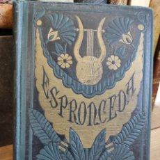 Libros antiguos: ESPRONCEDA OBRAS POETICAS -1884 - BIBLIOTECA SALVATELLA - 20,5 X 14 CM.. Lote 232934315