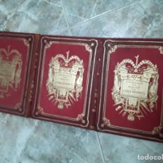 Libros antiguos: HISTORIA DE LOS GIRONDINOS (REVOLUCIÓN FRANCESA). 3 VOL. LUJO COMPLETA. DE LAMARTINE. SALVATELLA. Lote 232961925