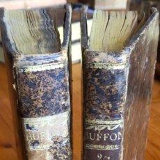 Libri antichi: BUFFON- HISTORIA NATURAL- TEORIA DE LA TIERRA- MAPAS- DOS TOMOS- 1847. Lote 233120645