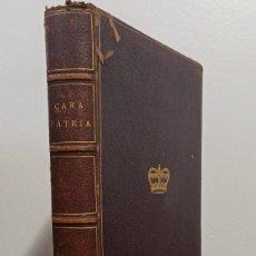 Libros antiguos: MADAME RATTAZZI. CARA PATRIA. ÉCHOS ITALIENS. 1873. Lote 233137650