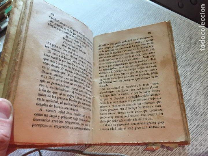 Libros antiguos: Antiguo libro el libro de las niñas por Joaquin Rubió y Oro año 1868 Barcelona - Foto 6 - 233181065