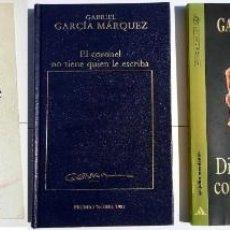 Libros antiguos: 5 LIBROS DE GABRIEL GARCIA MARQUEZ., RELATO DE UN N. 1978, LOS FUNERALES DE MAMA GRANDE 1985, ETC.. Lote 131519018