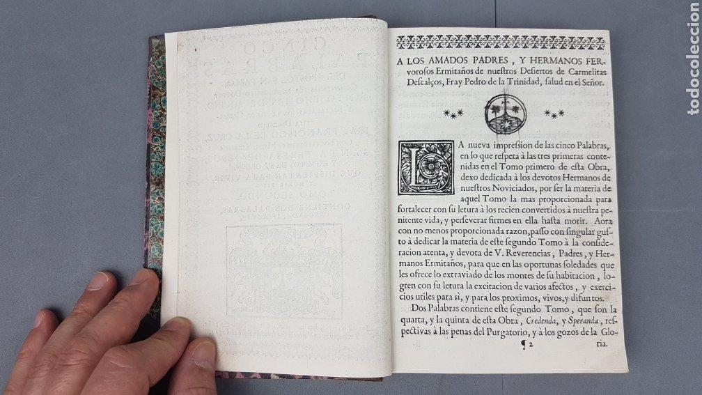 Libros antiguos: CINCO PALABRAS DEL APÓSTOL S. PABLO comentadas por Santo Tomás de Aquino. TOMO II. AÑO 1724. - Foto 8 - 233399110