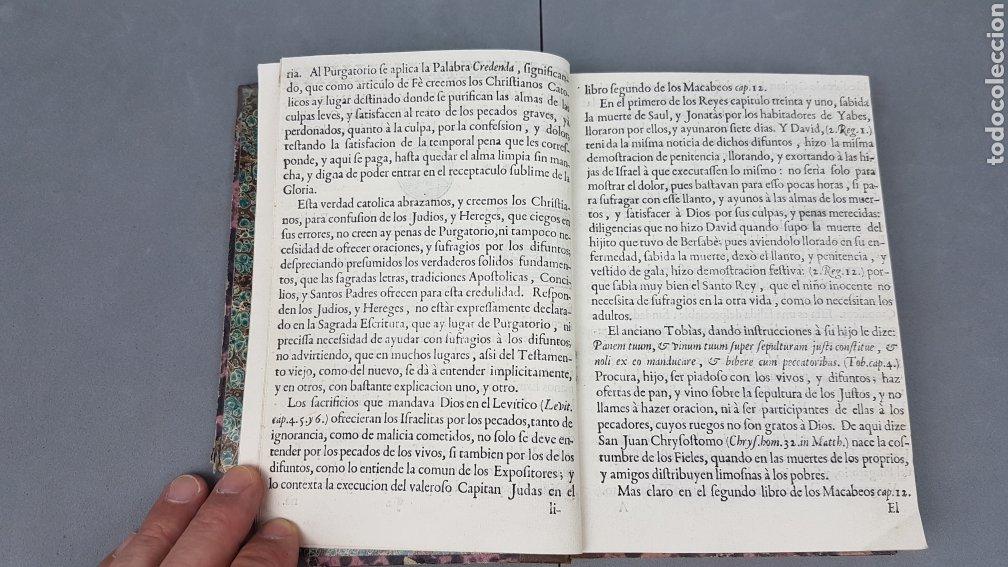 Libros antiguos: CINCO PALABRAS DEL APÓSTOL S. PABLO comentadas por Santo Tomás de Aquino. TOMO II. AÑO 1724. - Foto 9 - 233399110