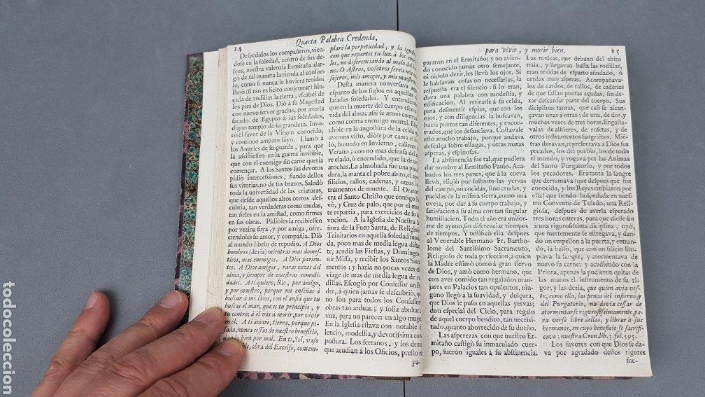Libros antiguos: CINCO PALABRAS DEL APÓSTOL S. PABLO comentadas por Santo Tomás de Aquino. TOMO II. AÑO 1724. - Foto 13 - 233399110