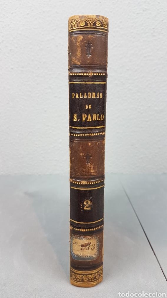 CINCO PALABRAS DEL APÓSTOL S. PABLO COMENTADAS POR SANTO TOMÁS DE AQUINO. TOMO II. AÑO 1724. (Libros Antiguos, Raros y Curiosos - Pensamiento - Otros)