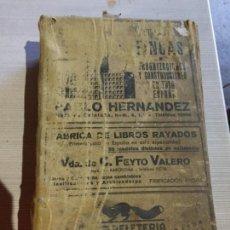 Libros antiguos: ANTIGUA GRAN GUÍA TELEFONICA / ANUNCIOS DE LOS AÑOS 20-30. Lote 233451340