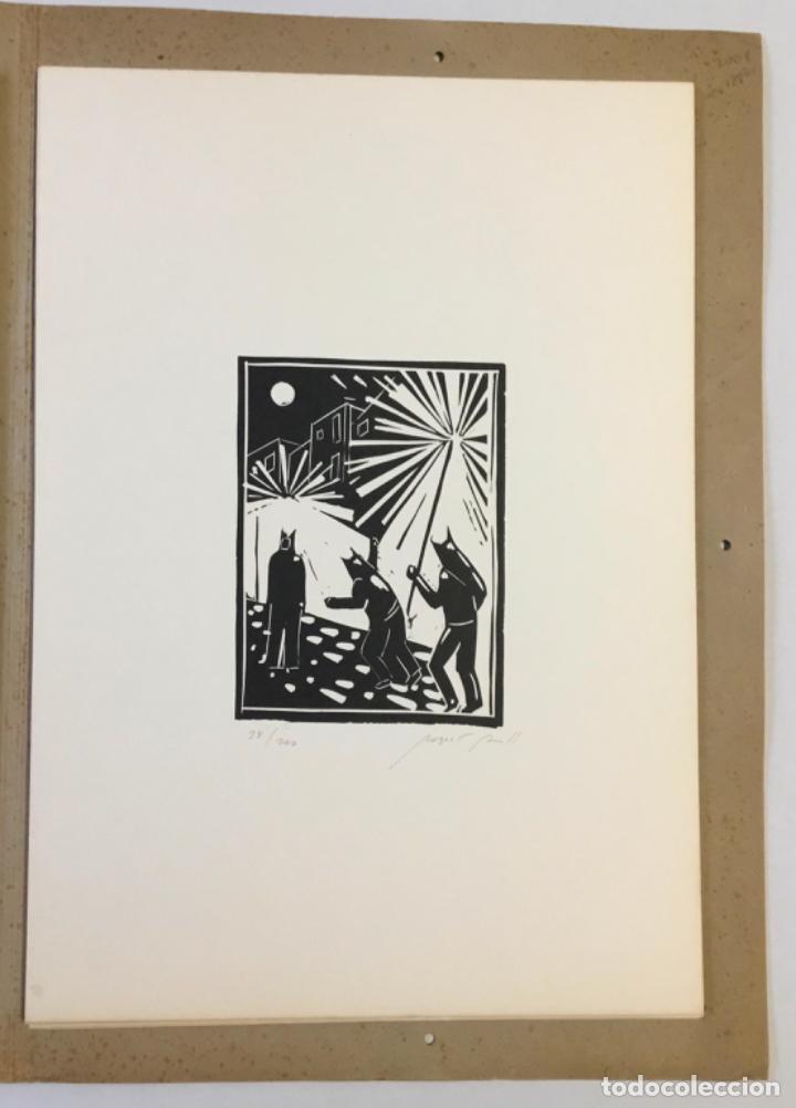 Libros antiguos: FESTA MAJOR. Vilafranca del Penedès, 1978. Edició de 200 exemplars. - Foto 5 - 233549630