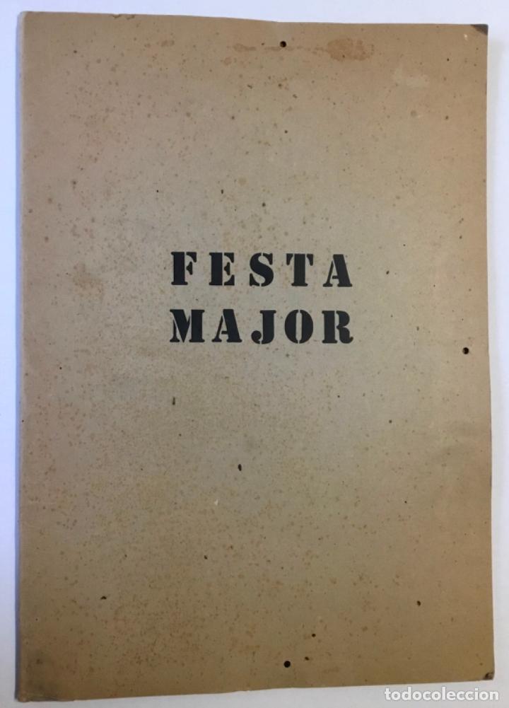 FESTA MAJOR. VILAFRANCA DEL PENEDÈS, 1978. EDICIÓ DE 200 EXEMPLARS. (Libros Antiguos, Raros y Curiosos - Bellas artes, ocio y coleccionismo - Otros)