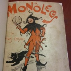 Livres anciens: MONOLECHS. APELES MESTRES. ANTONI LÓPEZ, EDITOR. Lote 233685490