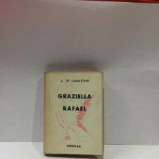 Libros antiguos: LAMARTINE : GRAZIELLA / RAFAEL - AGUILAR CRISOL Nº 60 (1952). Lote 261619230
