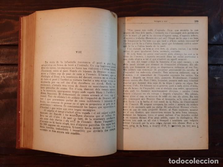 Libros antiguos: GUERRA I PAU, COMPLETA 4 VOLUMS - LLEO TOLSTOI - FULLETÓ LA PUBLICITAT, 1928, BARCELONA - Foto 6 - 233903360