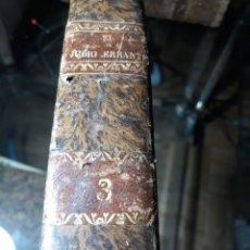 Libros antiguos: EL JUDIO ERRANTE. EUGENIO SUE. TOMO III . 1845. EDITOR F. MELLADO. Lote 234033530