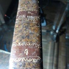 Libros antiguos: EL JUDIO ERRANTE POR EUGENIO SUE TONO IV . MADRID 1845 . EDITOR F. MELLADO .. Lote 234034380