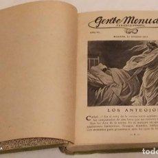 Libros antiguos: SUPLEMENTO INFANTIL - GENTE MENUDA - BLANCO Y NEGRO AÑO 1911. Lote 234547725