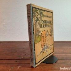 Libros antiguos: CINC RONDALLES DE JESUS INFANT - IL·LUSTRATS PER J. LONGORIA - EDITORIAL POLIGLOTA, 1930, BARCELONA. Lote 234763500