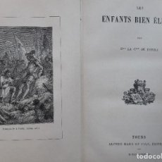 Libros antiguos: LES ENFANTS BIEN ELEVES MME LA CSSE DE FERRY ALFRED MAME ET FILS 1888. Lote 234783985