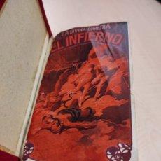 Libros antiguos: LA DIVINA COMEDIA DE DANTE ALIGHIERI TOMO 1 EL INFIERNO AÑO 1865 APROXIMADAMENTE. Lote 234832185