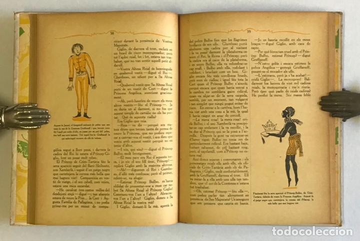 Libros antiguos: LA ROSA I LANELL. Novel·la meravellosa per a infants. - THACKERAY, W. M. JOSEP CARNER, JOAN DIVORI - Foto 3 - 123251911