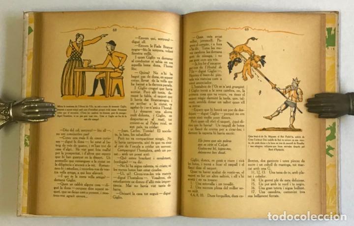Libros antiguos: LA ROSA I LANELL. Novel·la meravellosa per a infants. - THACKERAY, W. M. JOSEP CARNER, JOAN DIVORI - Foto 4 - 123251911