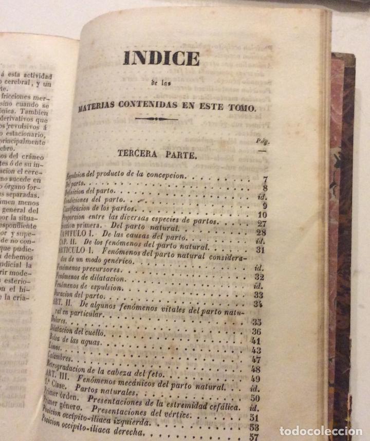 Libros antiguos: TRATADO PRACTICO DE PARTOS ,F.J.MOREAU ,MADRID 1842-TOMO II - Foto 3 - 234890995