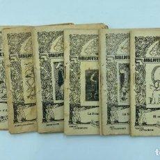 Libros antiguos: BIBLIOTECA L´EIXERIT. 18 LIBRILLOS. Lote 234910740