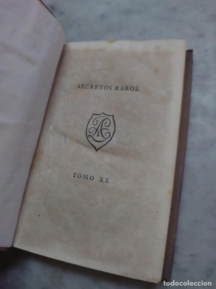 Libros antiguos: Prpm 28.. Secretos raros de artes y oficios. Tomo XI. - Foto 2 - 234915835