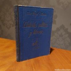 Libros antiguos: ARTÍCULOS POLÍTICO - HUMORISTICOS Y LITERARIOS EDITORIAL ARALUCE 1936 JOSÉ GEIGEL Y ZENON. Lote 234923190
