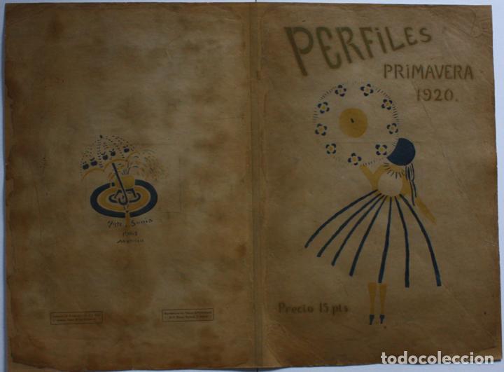 Libros antiguos: José Zamora, Sonia Delaunay. Revista Perfiles. 1920. Nº1 (único numero publicado) - Foto 3 - 235221960