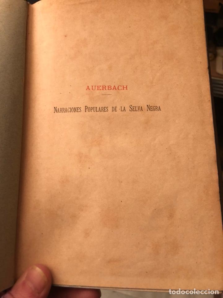 Libros antiguos: Libro narraciones de la selva negra - Foto 2 - 235281590