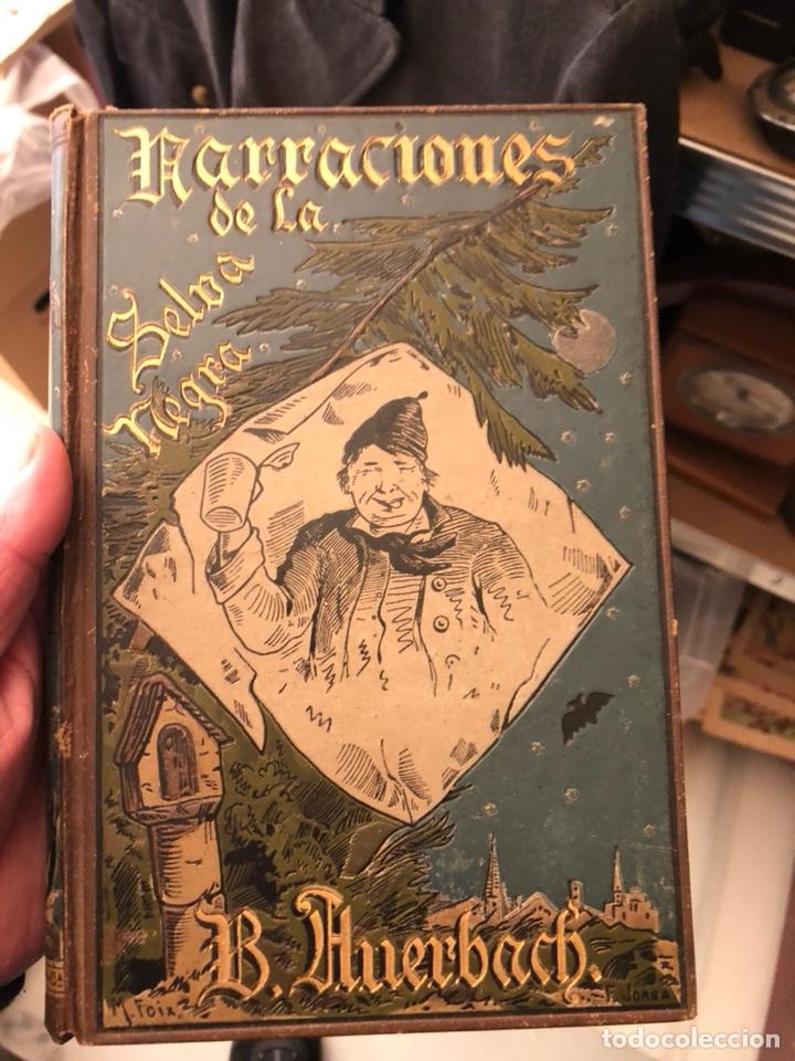 LIBRO NARRACIONES DE LA SELVA NEGRA (Libros Antiguos, Raros y Curiosos - Literatura - Otros)