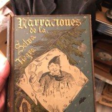 Libros antiguos: LIBRO NARRACIONES DE LA SELVA NEGRA. Lote 235281590