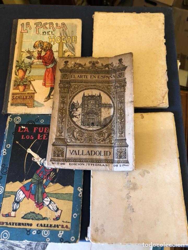 LOTE DE 5 LIBROS ANTIGUOS (Libros Antiguos, Raros y Curiosos - Literatura Infantil y Juvenil - Otros)
