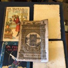 Libros antiguos: LOTE DE 5 LIBROS ANTIGUOS. Lote 235281870