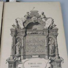 Libros antiguos: LA ILUSTRACIÓN GALLEGA Y ASTURIANA. TOMO II. - 1880 MADRID. Lote 235300100