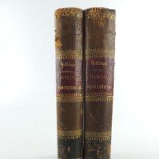 Libri antichi: DOS TOMOS TRATADO DE TEOLOGIA FUNDAMENTAL O APLLOGETICA POR FRANCISCO HETTINGER AÑO 1883. Lote 235310655
