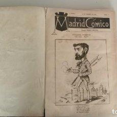 Libri antichi: LIBRO MADRID CÓMICO AÑO 1883 (PRIMER NÚMERO). Lote 235320380