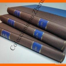 Libros antiguos: MUNDO GALANTE. GALERIA ARTISTICA. 1 AL 112 - 3 TOMOS (COLECCIÓN COMPLETA). Lote 235342425